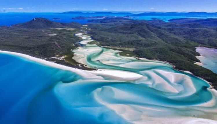 White haven Beach Whit sunday Islands Australia