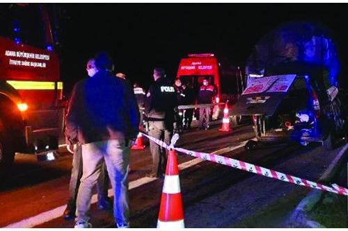 Adana Tır Kazası