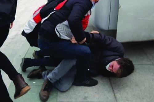 Gözaltına alınan öğrenciler