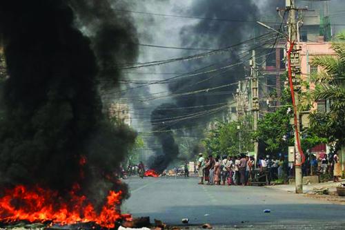 Myanmar Gösteriler ve Ölenler