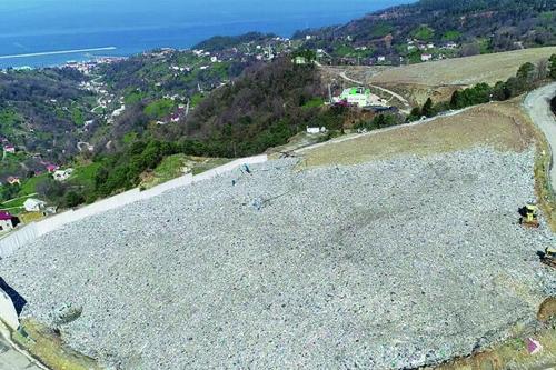 Trabzon çöp alanı