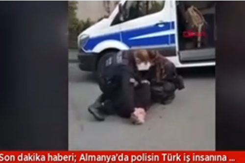 Alman Polis Şiddeti