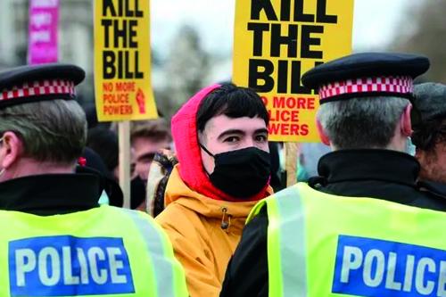 İngiltere Protestolar