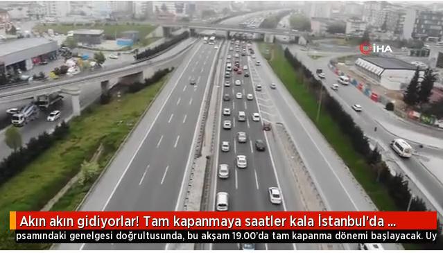 İstanbuldan Kaçan Kaçana