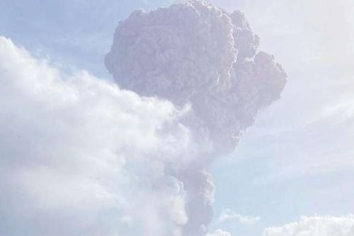Karayipler Patlayan Yanardağ