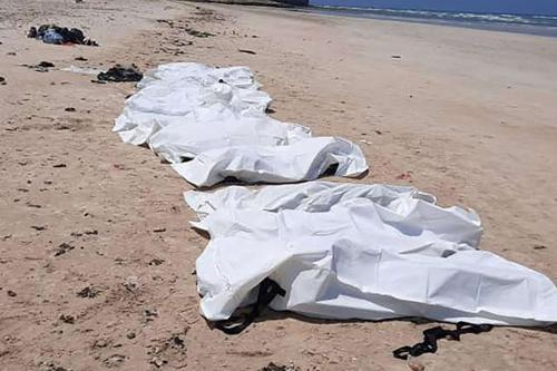 Kıyıya Vuran Çocuk Göçmen Cesetleri