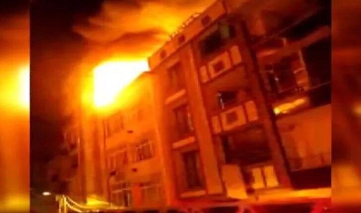 İstanbul Küçükçekmece Yangın