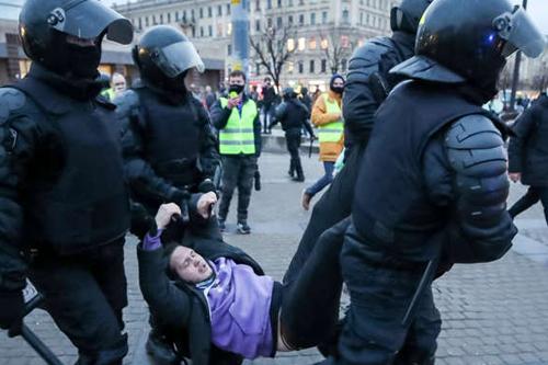 Rusya Navaly Protestoları