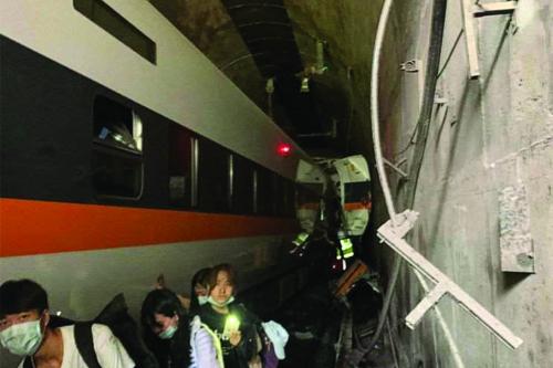 Tayvan Tren Kazası