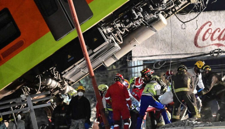 Mexico City Çöken Metro