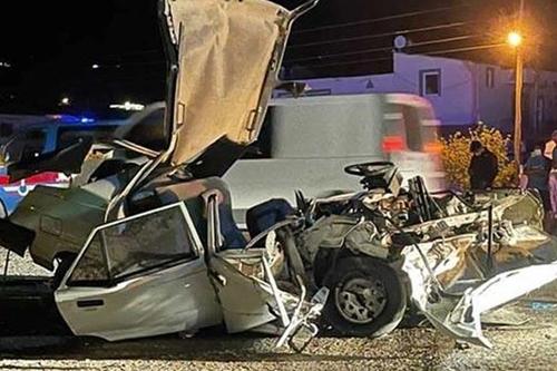 Antalya Kaş Trafik Kazası