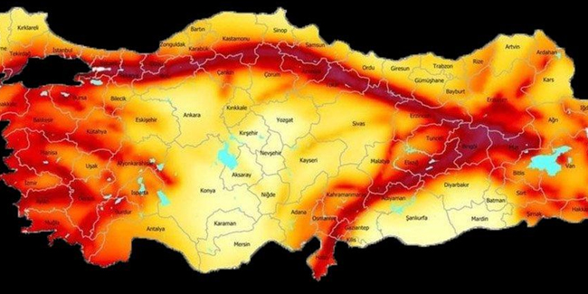 İstanbulda beklenen deprem