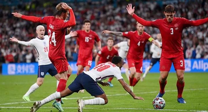 İngiltere Danimarka Maçı Penaltı