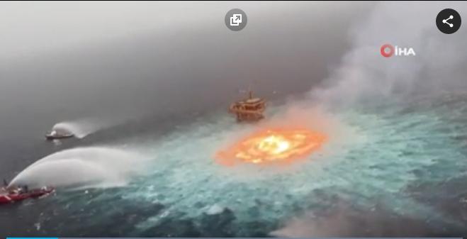 Meksika Denizinde Patlama