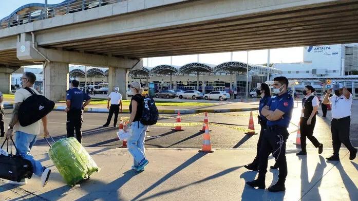 Havalimanında İntahar Olayı